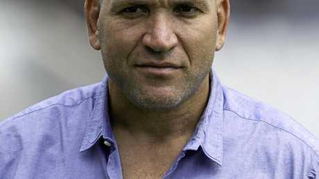Former NRL player and current Fox Sports analyst Gorden Tallis.