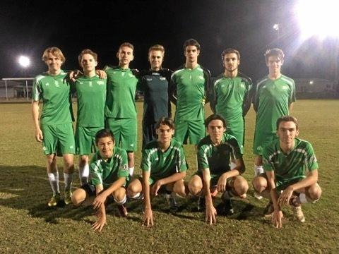 SELECT OUTFIT: The Sunshine Coast Under-17 side which beat a representative team from New Caledonia.