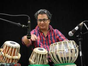 Dheeraj Shrestha is an internationally acclaimed tabla percussionist and will be performing at Banana Shire's library on Friday.