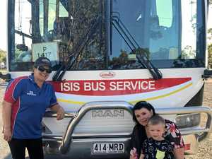 How a school bus makes this little boy's day