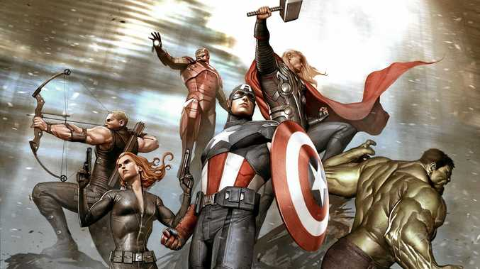 SUPER: The Marvel exhibition at the Gallery of Modern Art finishes on September 3.
