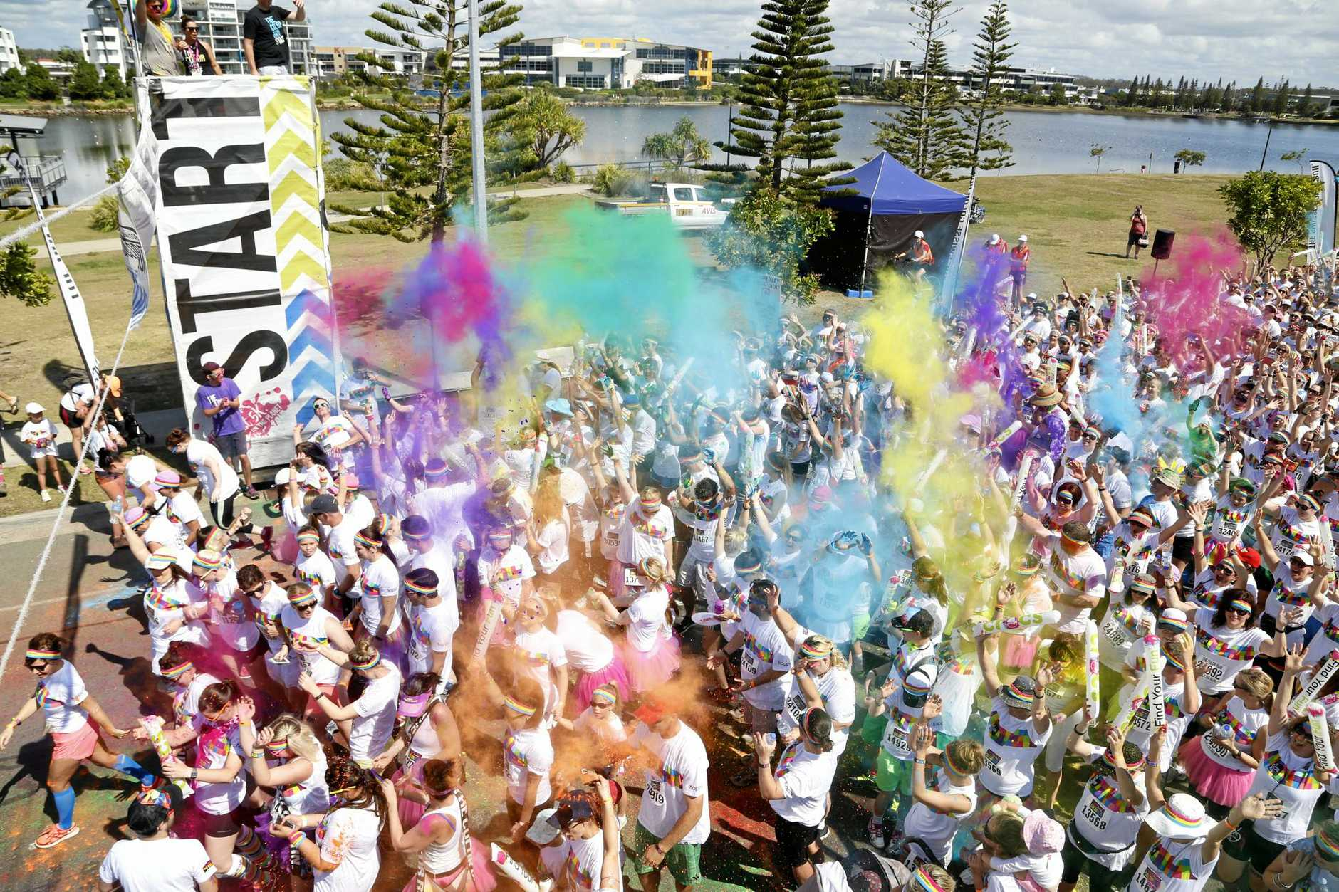 The Color Movement, brought to the Coast by the same team who brought us the Color Run, will host their first-ever festival on the Coast.