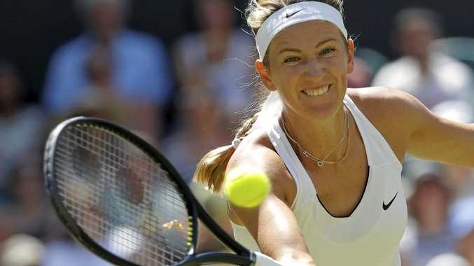 FAMILY FIRST: Victoria Azarenka of Belarus has pulled out of the US Open.