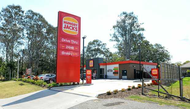 NO THANKS: Hungry Jacks at Brassall had their request to operate 24/7 rejected by Ipswich City Council.