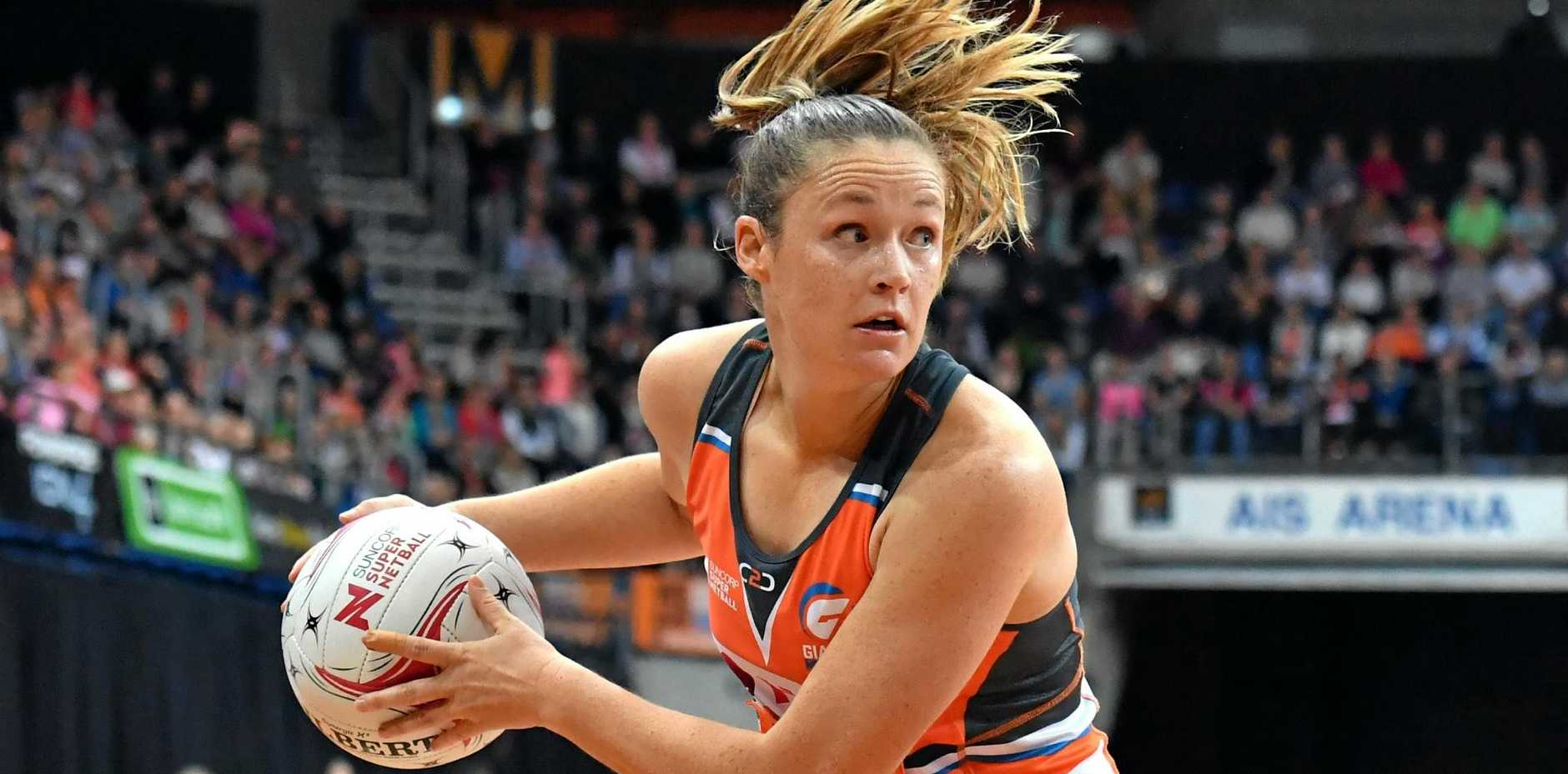 IN DIAMONDS SQUAD: Giants veteran goal shooter Susan Pettitt.