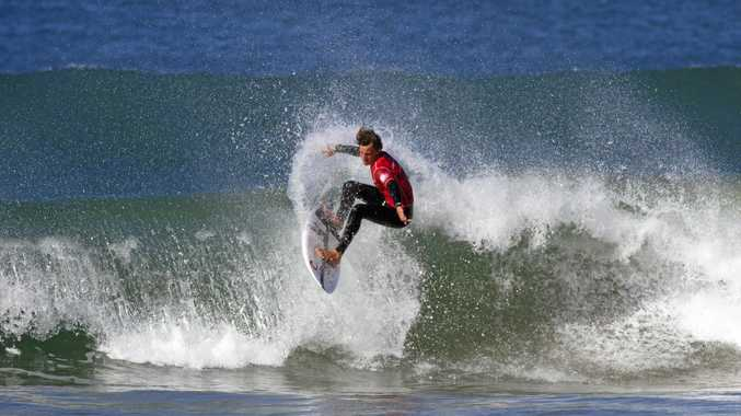 YOUNG GUN: Alister Reginato, pictured at a GromSearch comp.