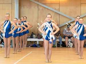 Twirlers ready for action at state titles