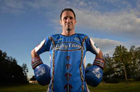 Boxer Brad Hore.