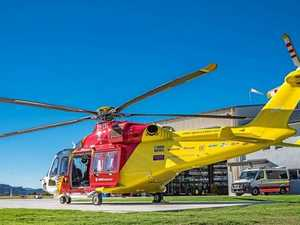The new Westpac Rescue Helicopter.