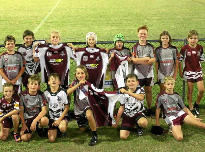 KEEN KIDS: Kawana's under 11s travelled to Townsville to compete in the Laurie Spina Shield this year.