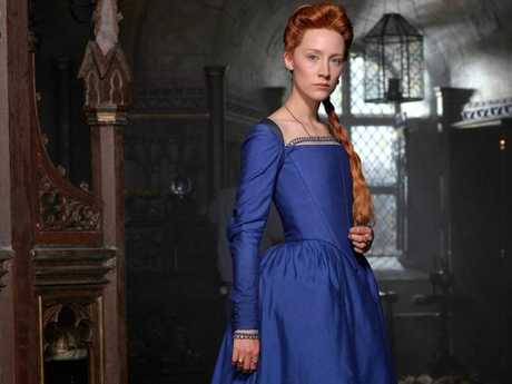 Saoirse Ronan as Mary in a scene from the movie Mary Queen of Scots.