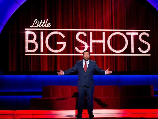 Shane Jacobson hosts Little Big Shots.