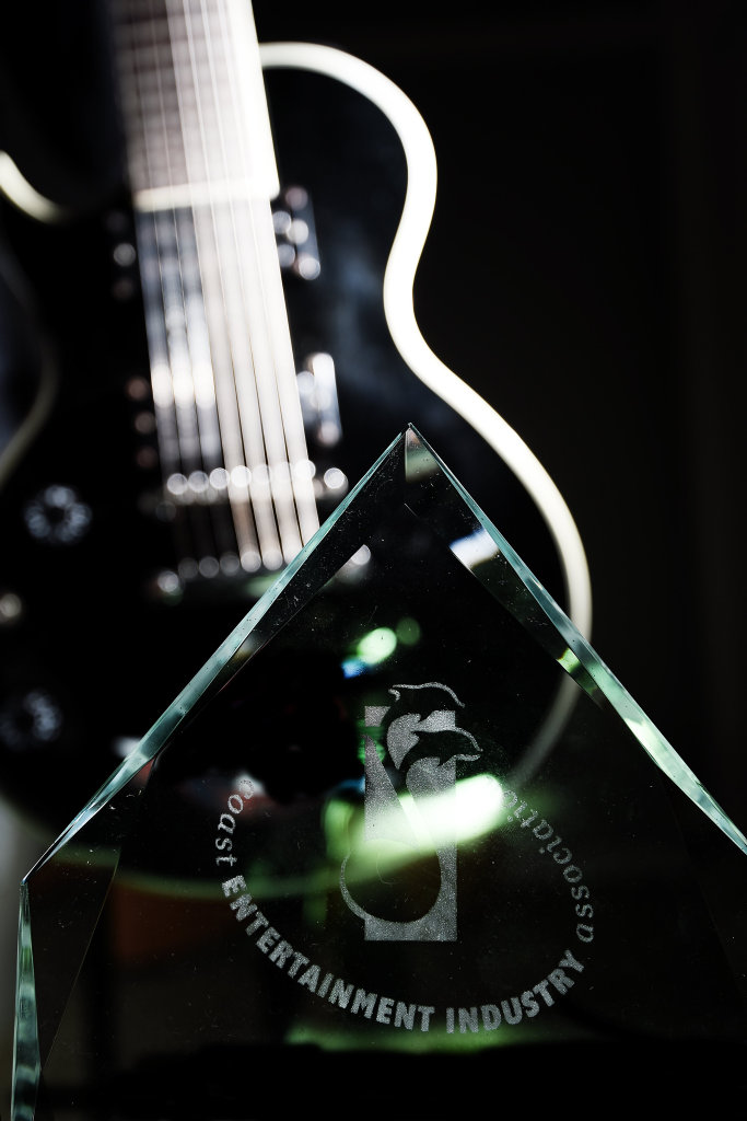 Dolphin Award trophy. Photo Marc Stapelberg / The Northern Star
