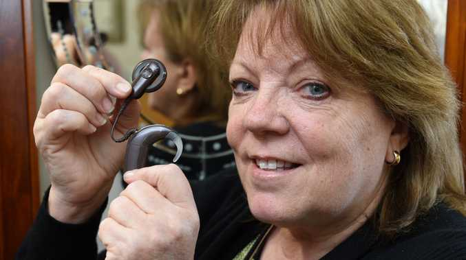 Fraser Coast Cochlear Implant Support Group member Debra Haigh encourages residents with hearing difficulties to attend this Saturday's public meeting.