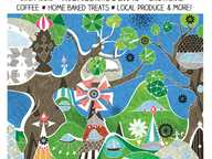 Live music, homemade food, great coffee, friendly country atmosphere - variety of stalls to please everyone - plants, crystals, honey, clothes, craft & more!