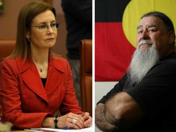 NSW Attorney-General Gabrielle Upton, left, has dismissed the push to axe Australia Day as an attempt to rewrite history and right, Blacktown indigenous elder Gordon Workman.