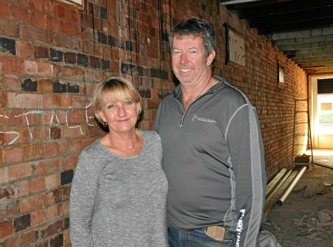 BAKEHOUSE HISTORY: Cath and Gary are thrilled with the progress of renovations so far and can't wait to share their new business with the Cap Coast community.