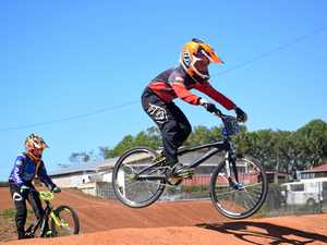 BMX riders back on track
