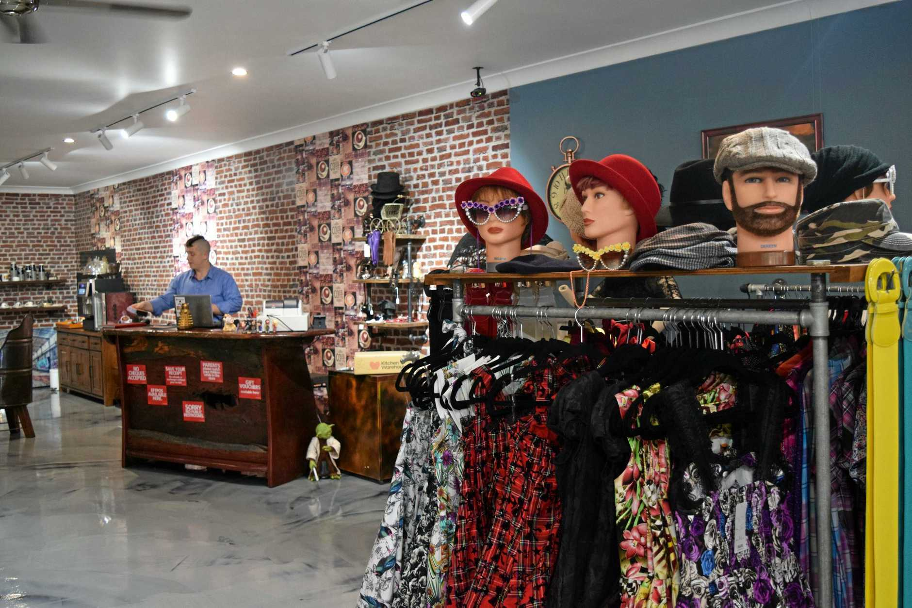 STEAMPUNK: The shop, open for almost a year, has already generated a keen following in the region.