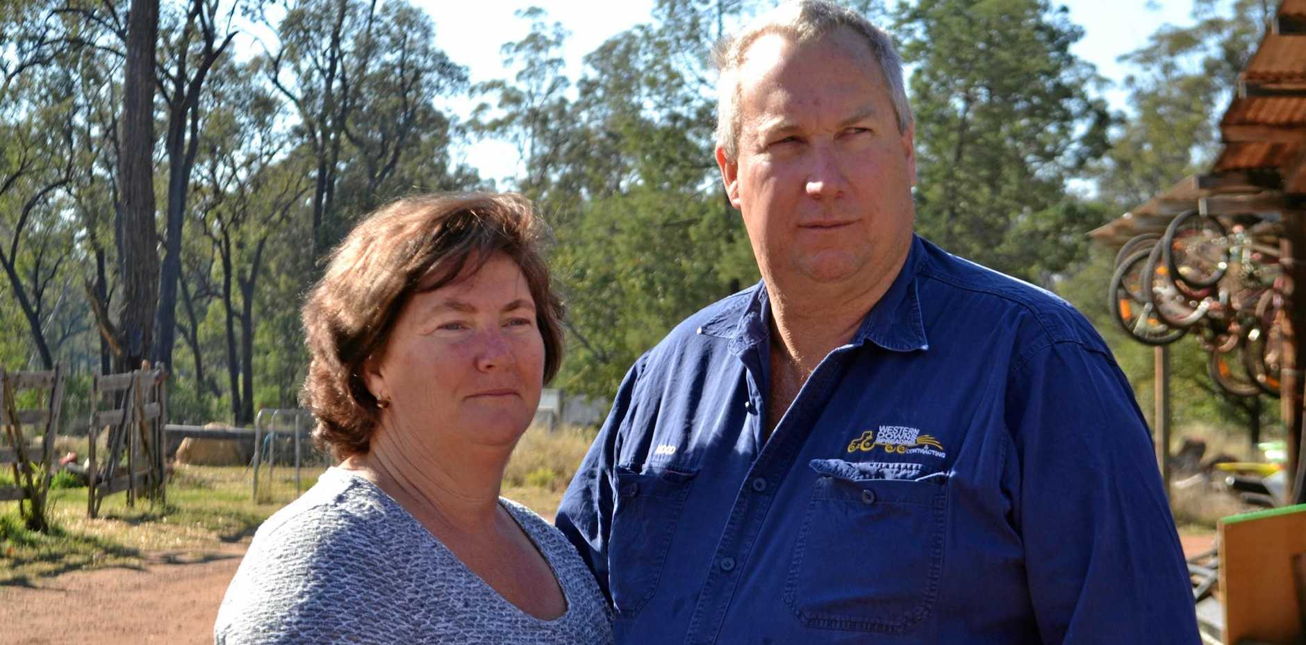 SMALL VICTORY: QGC has been ordered to pay Narelle and Nood Nothdurft additional compensation by the Land Court.