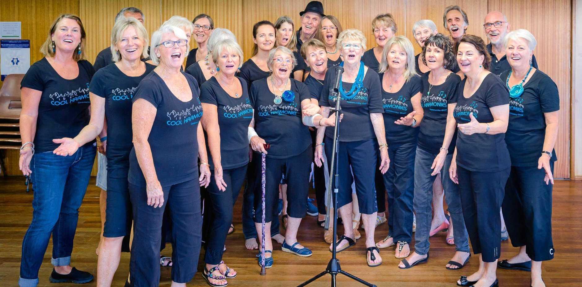 COOL FUNDRAISER: Cool Harmonies community choir.