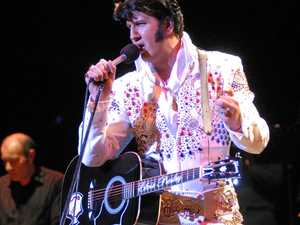 TRIBUTE: Mark Anthony as Elvis Presley.