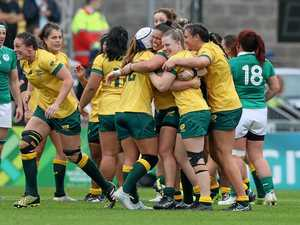 Wallaroos get revenge on Ireland at World Cup