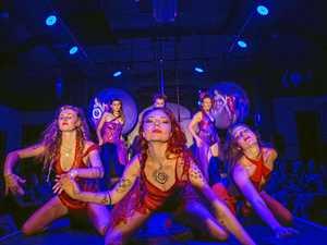 Fantasy world of dance and performance in Nimbin