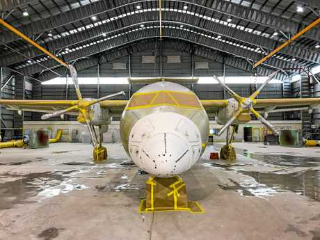 Each aircraft takes around 12 days to repaint with 16 people per aircraft, a total of 1100 labour hours.