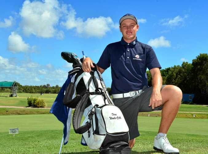 CONFIDENT: Sunshine Coast golfer Shae Wools-Cobb will play in the Asia-Pacific Amateur Championship.