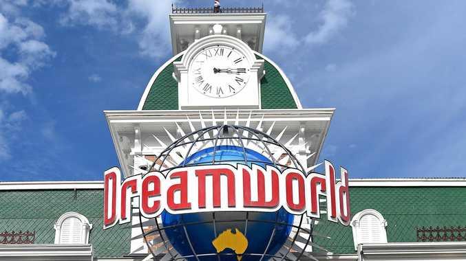 Dreamworld Theme Park on the Gold Coast.