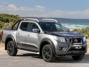 Beef cake Nissan Navara ute looks better in black
