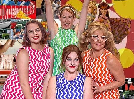 STARS: The four girls sing and swing their way into the Sixties in The Marvelous Wonderettes