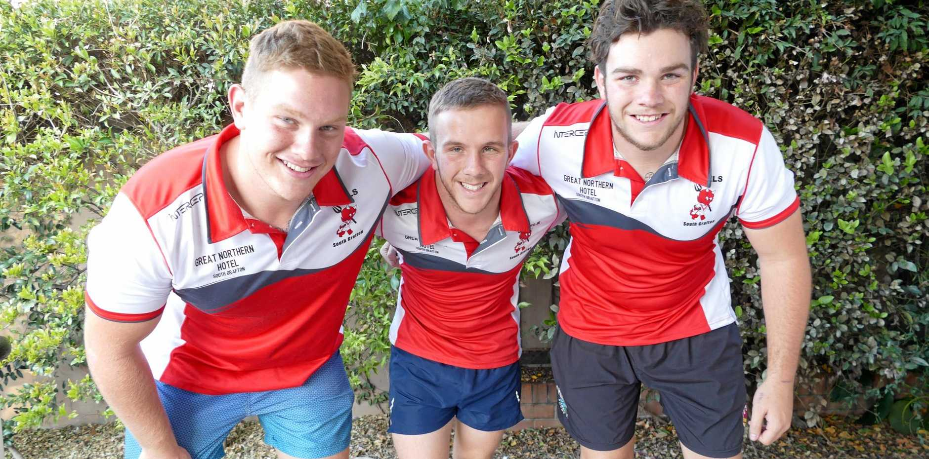 TRIPLE EFFORT: The Cooper brothers, Austin, Elliott and Lewis, will all have big parts to play for the Rebels in first grade and under-18s as they push for a spot in this year's grand finals.