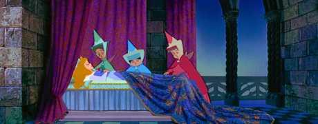 FAIRY TALE: A scene from the movie Sleeping Beauty.