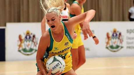 Gretel Tippett in action in the last Quad Series earlier this year. Photo: Getty Images
