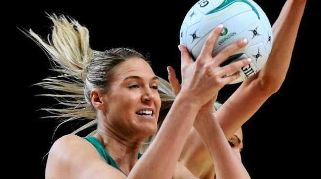 Shooter Caitlin Bassett will captain Australia against England. Photo: News Corp Australia