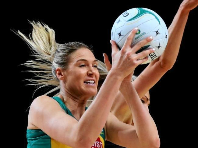 Shooter Caitlin Bassett will captain Australia against England. Photo: News Corp Australia