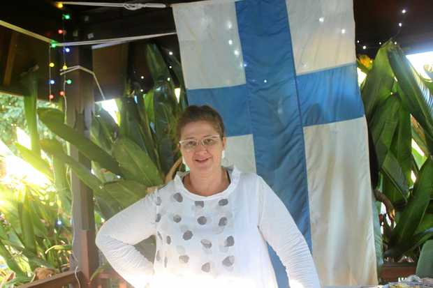 BETWEEN CULTURES: Maaret Sinkko grew up in a Finnish household in Australia. Her family spoke Finnish at home until 1972. August 25 marks 100 years since the country declared itself independent. Finns across the world are marking the anniversary with Finnish Your Dinner celebrations.