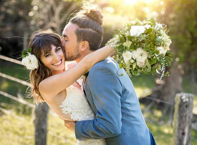 LOVING MARRIED LIFE: Cory and Charlotte Jacobsen.