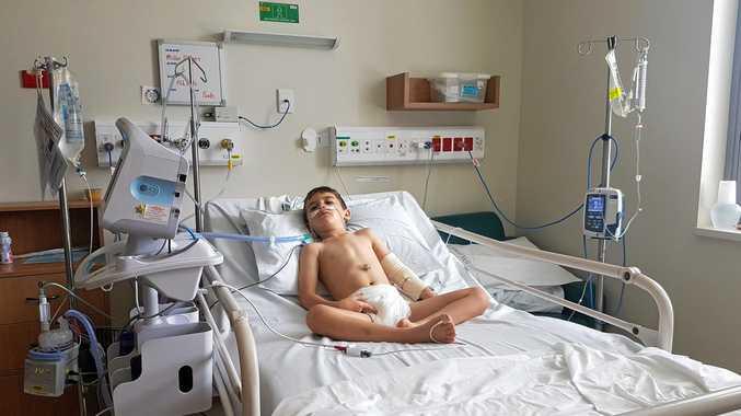 Miller O'Flynn, of Aroona, is battling a diagnosis of terminal PKAN - NBIA.
