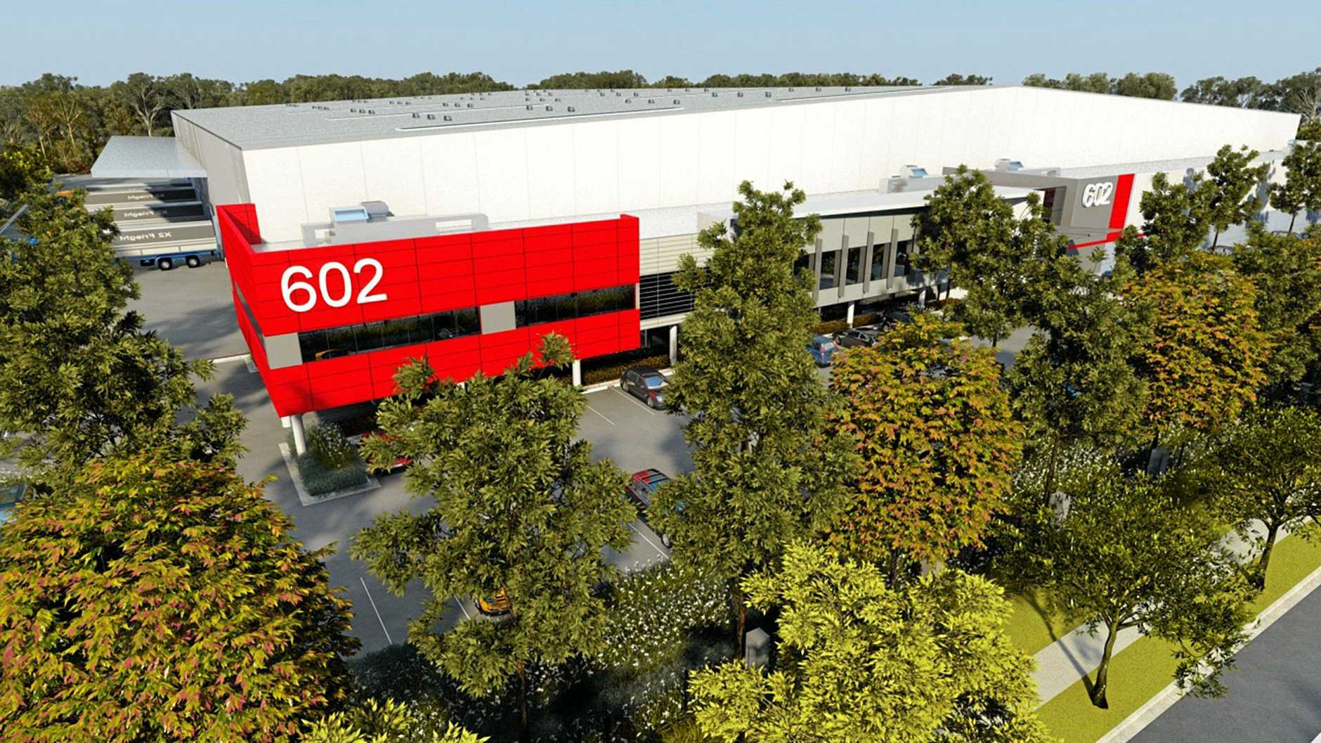 WORK: Construction has started on a new $222 million business park on the Sunshine Coast.