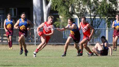 Ruckman Jamie Garner has been vital to Yeppoon's thrilling quest for a third straight flag.