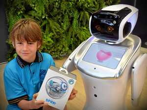 Robot fan wins naming contest for Coast humanoid