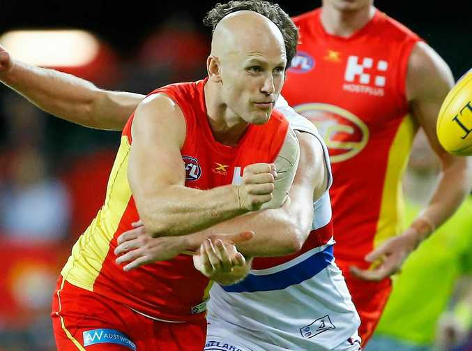 Gary Ablett of the Suns is hoping to move back to Geelong.