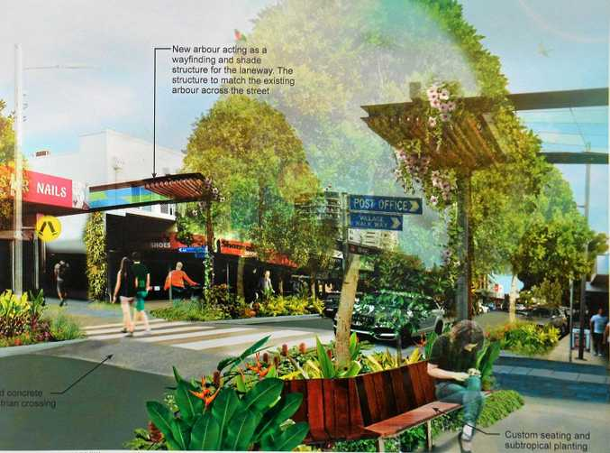 Plans for the next section of Caloundra streetscape works.