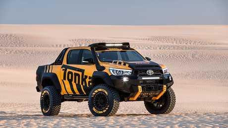 The Toyota HiLux Tonka Concept.