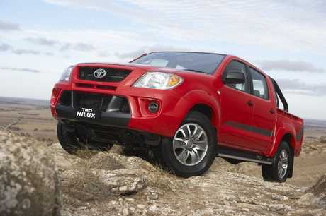 The TRD HiLux.