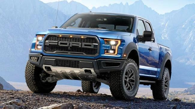 US media has speculated the Ranger Raptor may borrow turbo petrol from the F150 Raptor (pictured) or the Mustang and Focus RS. But it may also go diesel given Chevrolet's recent success with the Colorado in the US.