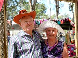 Wedded bliss a big bra-vo for Gympie Muster